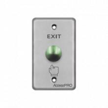 Apbrvc Accesspro Boton Tipo Hongo Color Verde botones de sal