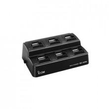 Bc19702 Icom Multicargador Para 6 Baterias BP-264 Incluye A