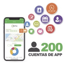 Biotimeapp200 Zkteco Licencia Para Realizar Checadas De Asis