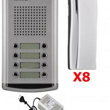 cmx2420001 COMMAX COMMAX DR8AMAP - Kit de frente de calle d