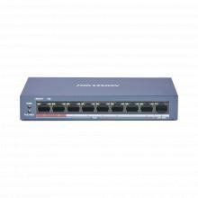 Ds3e0109pemb Hikvision Switch PoE / 250 Metros PoE Larga Di