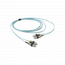 Fj2scsc5l03aq Siemon Jumper De Fibra Optica Multimodo 50/125