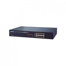 Gsd808hp Planet Switch No Administrable PoE Gigabit De 8 Pue