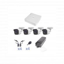 Kestxlt4bw Epcom KIT TurboHD 720p / DVR 4 Canales / 4 Camara
