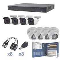 Kevtx8t4bw4ew Epcom KIT TurboHD 1080p / DVR 8 Canales / 4 Ca