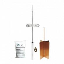 KITDIPOLOBASIC Total Ground Kit Basico de Pararrayo con Punt