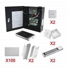 Kittarjeta02 Hikvision Kit De Control De Acceso Con TARJETA