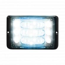 M180lb Code 3 Luz Direccional De 3 Niveles Rojo/claro Ambar
