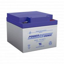 Ps12260f2 Power Sonic Bateria De Respaldo UL De 12V 26AH / I