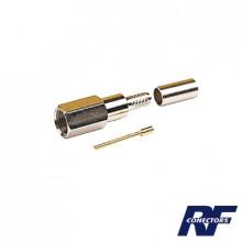 Rfe6000c Rf Industriesltd Conector FME Macho De Anillo Pleg