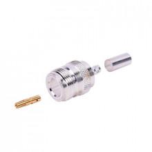 Rfn1027 Rf Industriesltd Conector N Hembra De Anillo Plegab