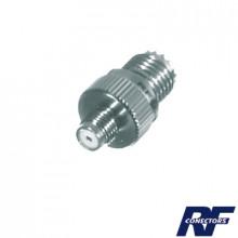 Rfu642 Rf Industriesltd Adaptador En Linea De Conector Mini