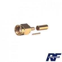Rp30001b Rf Industriesltd Conector SMA Macho Inverso De Ani