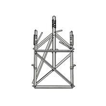 Rsb07 Rohn Base Corta Para Seccion 7 Para Torres Autosoporta