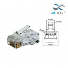 SBT1610005 SBE TECH SBETECH PLUGRJ45C6- Conector plug RJ45 p