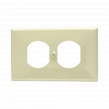 Sys136600 Surtek Placa De Plastico Para Contacto Duplex Colo