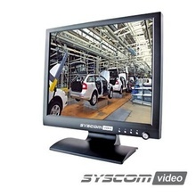 Syscom Video Epmon19led Monitor 19 HD LEDs Para CCTV Profesi