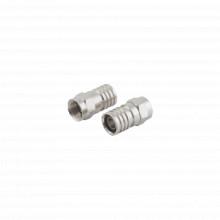 Ttcon535 Epcom Titanium Conector F Macho De Anillo Plegable