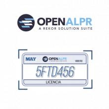 UPDATEOPENALPR01 Openalpr Licencia anual de mantenimiento y
