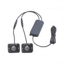 X12A Epcom Industrial Signaling Par de lamparas ultra brilla