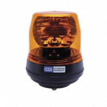 X5816a Ecco Baliza Rotativa Color Ambar SAE Clase 1 Ambar