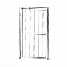 Xd100 Accesspro Puerta Lateral Para Torniquetes De Acero Ino