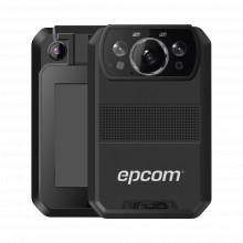 Xmrr3 Epcom Body Camera Para Seguridad Video 4K GPS Interc