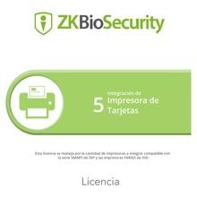 Zkbscp5 Zkteco Licencia Para ZKBiosecurity Para Integracion