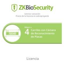 Zkbsparklprprj Zkteco Licencia Para ZKBiosecurity Para Modul