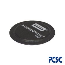 Pc20 Pcsc Micro Tag De Proximidad Tipo Ficha Adherible Para