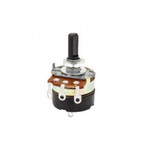 31vm305 Syscom Potenciometro De 5 KOhm Con Switch Rotatorio.