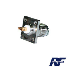 Rfu603 Rf Industriesltd Conector Mini UHF Hembra Montaje C