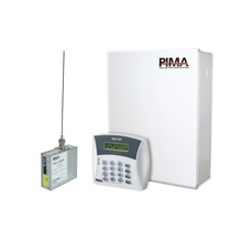 H6rxn400m Pima Kit De Alarma De 6 Zonas Con Teclado Alfanume