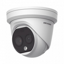 Ds2td12172pa Hikvision Turret IP Dual / Termica 1.8 Mm 160