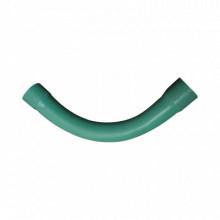 Ec036 Cresco CURVA DE 90 PVC CONDUIT PESADO 3/4 19 Mm tube