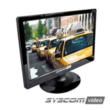 Epmon19 Syscom Video Monitor Profesional LCD De 19 Resoluci