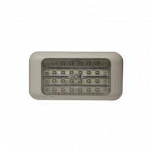 EW0240 Ecco Luz rectangular blanca calida para interiores ve