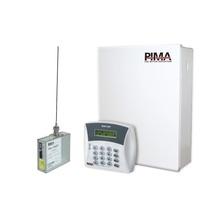 H6rxn400hh Pima Kit De Alarma De 6 Zonas Con Teclado Alfanum