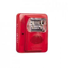 Hec324wr Hochiki Sirena/Estrobo Color Rojo 24 VCD 100dB