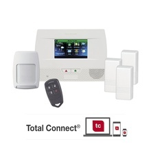 Honeywell L5210pkit Kit De Panel De Alarma Inalambrico Autoc