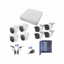 Kestxlt4bw4ew Epcom KIT TurboHD 720p / DVR 8 Ch / 4 Camaras