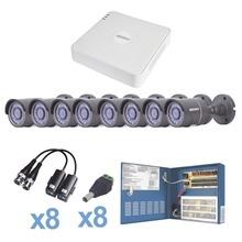Kestxlt8b Epcom KIT TurboHD 720p / Incluye DVR 8 Ch / 8 Cama