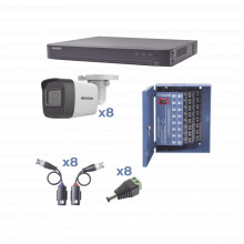Kh1080p8bw Hikvision KIT TurboHD 1080p / DVR 8 Canales / 8 C