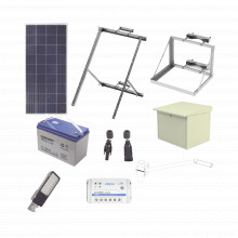 Kitsl30w Epcom Industrial Kit De Energia Solar Para Alumbrad