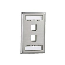 Nkf2s Panduit Placa De Pared Vertical Salida Para 2 Puertos