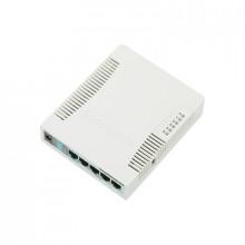 Rb951g2hnd Mikrotik RouterBoard 5 Puertos Gigabit Ethernet
