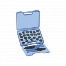 Rfa4006500 Rf Industriesltd Kit En Estuche De 17 Muelas Con
