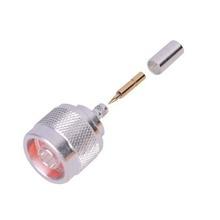 Rfn10053c Rf Industriesltd Conector N Macho De Anillo Pleg