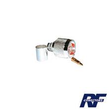 Rfn10063i Rf Industriesltd Conector N Macho De Anillo Plega