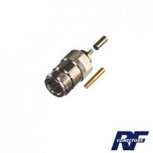 Rfn1027b Rf Industriesltd Conector N Hembra De Anillo Plega